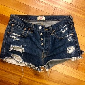 Levi's Shorts - Levis Shorts- run small